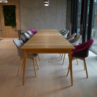 Stół SOLO powiększony do rozmiaru XXXL czyli stołu konferencyjnego