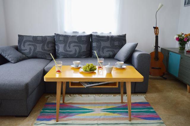 Kolorowe I Nowoczesne Stoliki Kawowe Do Salonu Wood Paper