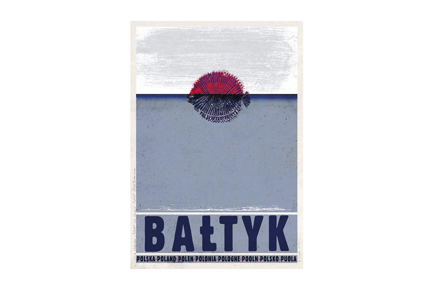 Plakaty Seria Polska Ryszard Kaja Wood Paper