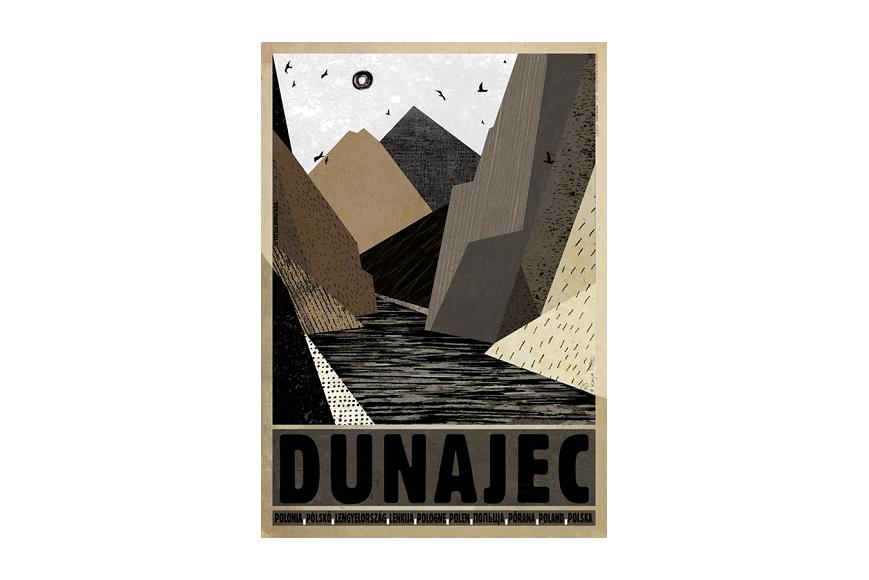Plakat Dunajec Ryszard Kaja