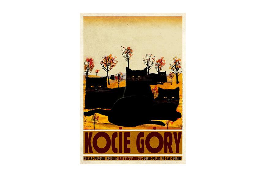 Plakat Kocie Góry Ryszard Kaja