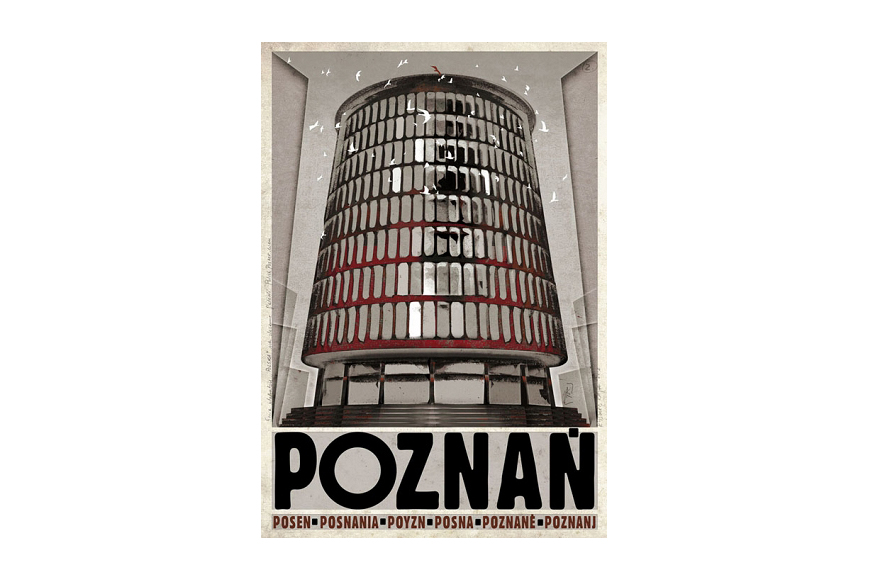 Plakat Poznań Ryszard Kaja