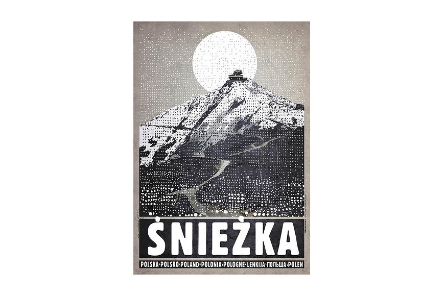 Plakat śnieżka Ryszard Kaja
