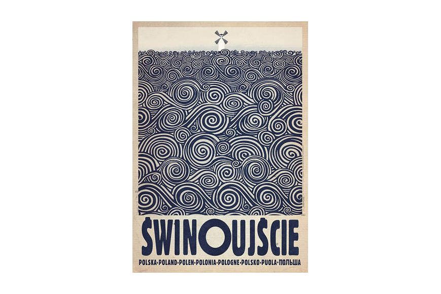 Plakat świnoujście Ryszard Kaja