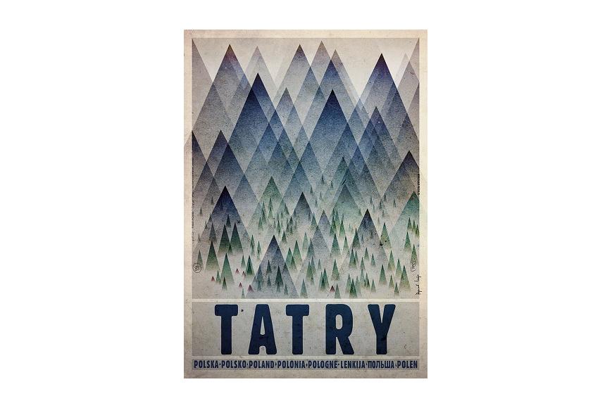 Plakat Tatry Ryszard Kaja