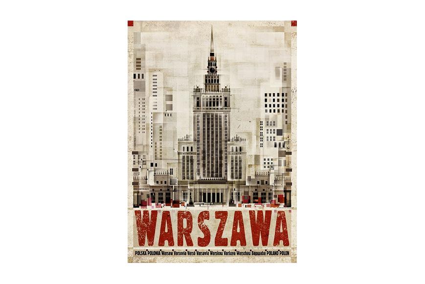 Plakat Warszawa Ryszard Kaja