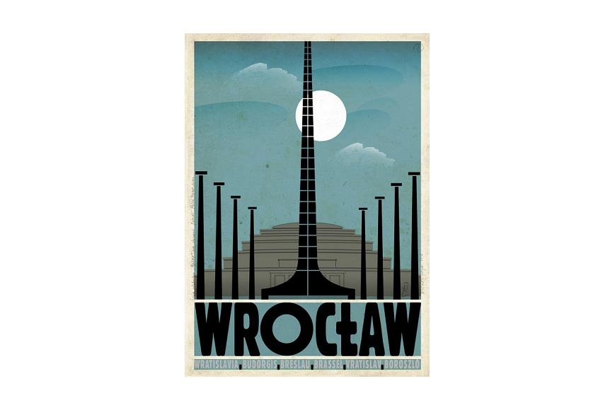 Plakat Wrocław Ryszard Kaja