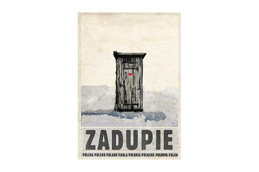 Plakat Zadupie Ryszard Kaja