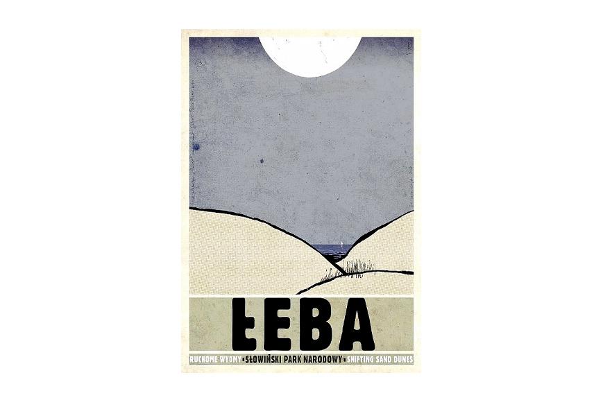 Plakat łeba Ryszard Kaja