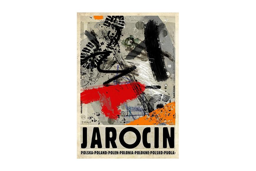 Plakat Jarocin Ryszard Kaja